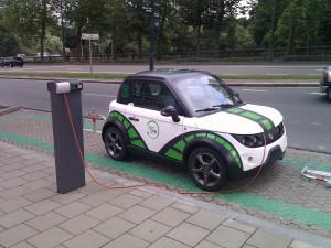 voiture électrique renault zoe pari