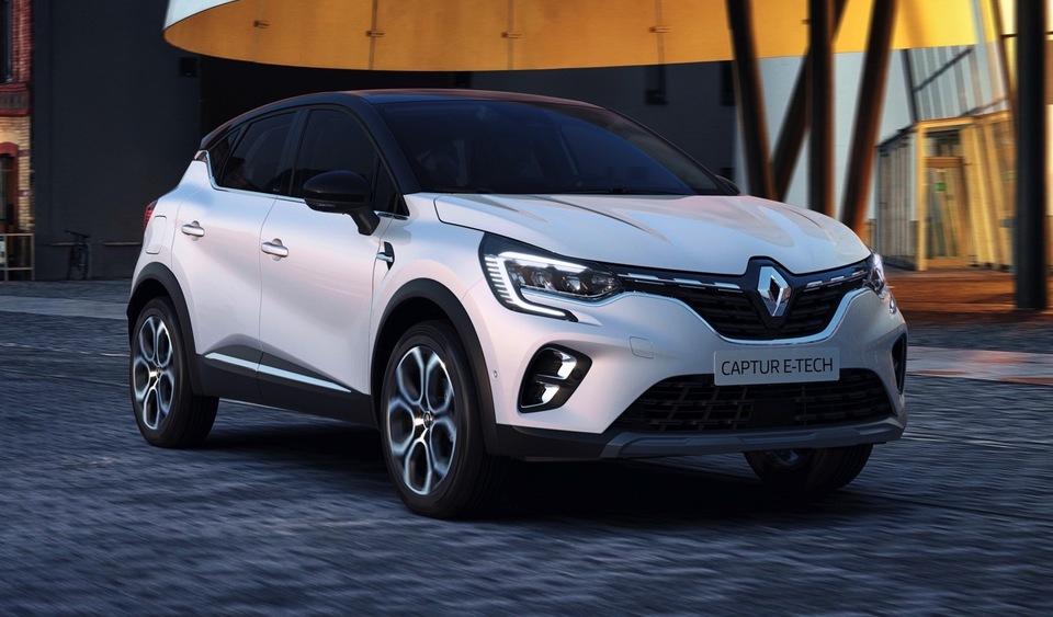 La Renault Captur Hybride