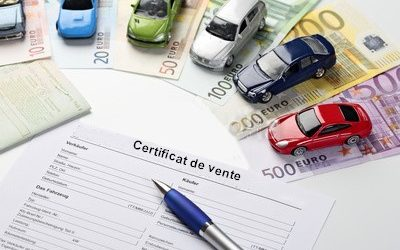 Les formalités à accomplir lors de l'achat d'un véhicule d'occasion
