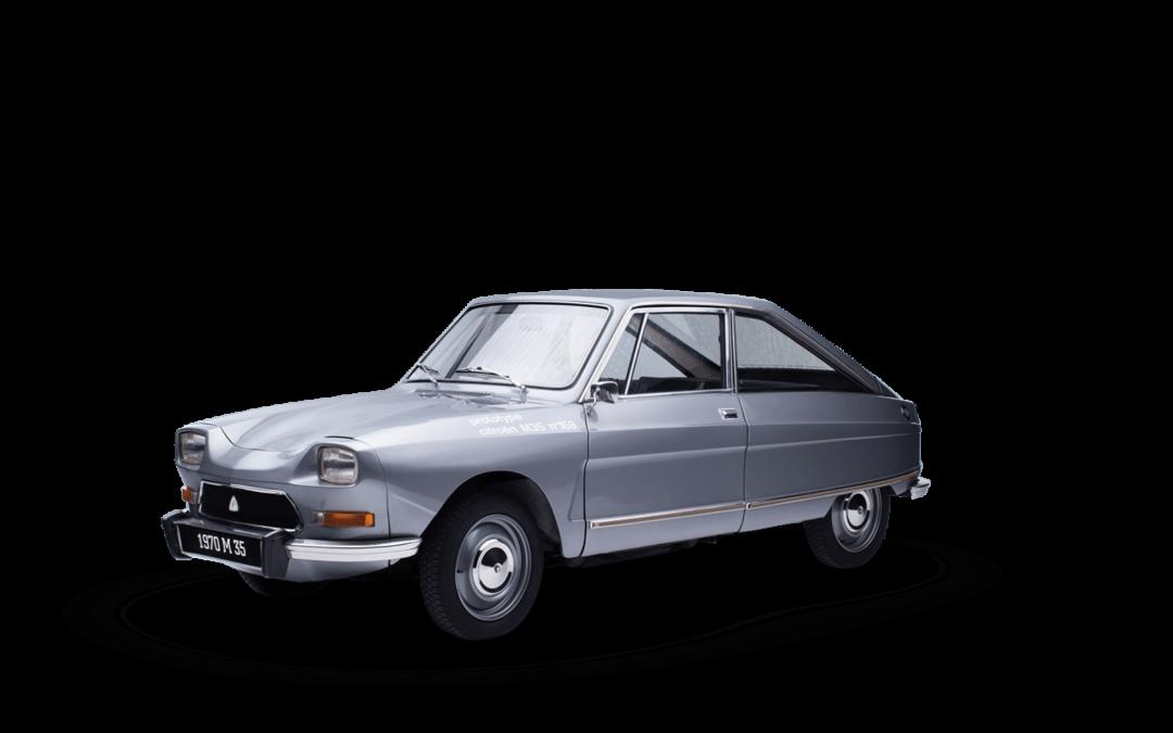 Un rare prototype Citroën M35 de 1969 à vendre